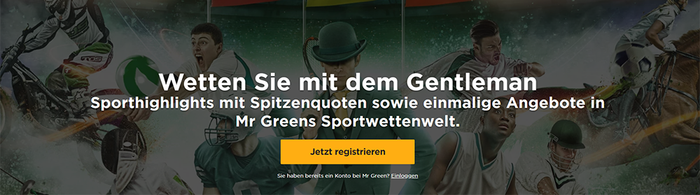 Mr Green Gutschein